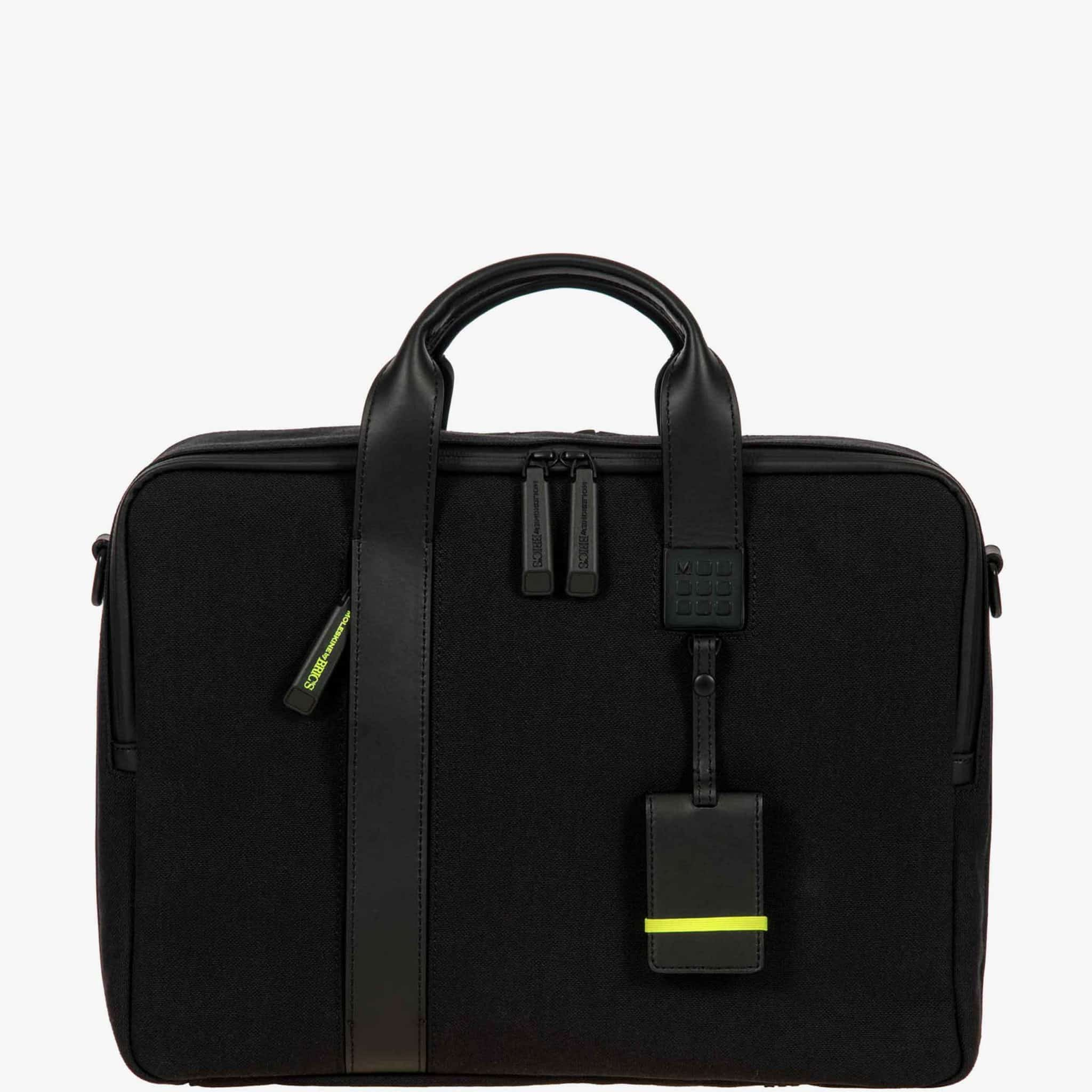 Cặp xách nam laptop khóa kéo Cartella per notebook BKN05712.001
